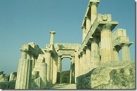 Dvorec Minosa na Crete. Labirint